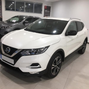 Qashqai blanco edition n-style frontal lateral